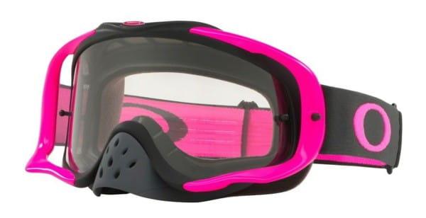 Crowbar MX - Pink Gunmetal - Clear