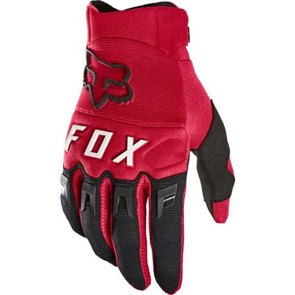 Dirtpaw - Handschuhe - Flame Red - Dunkelrot/Schwarz