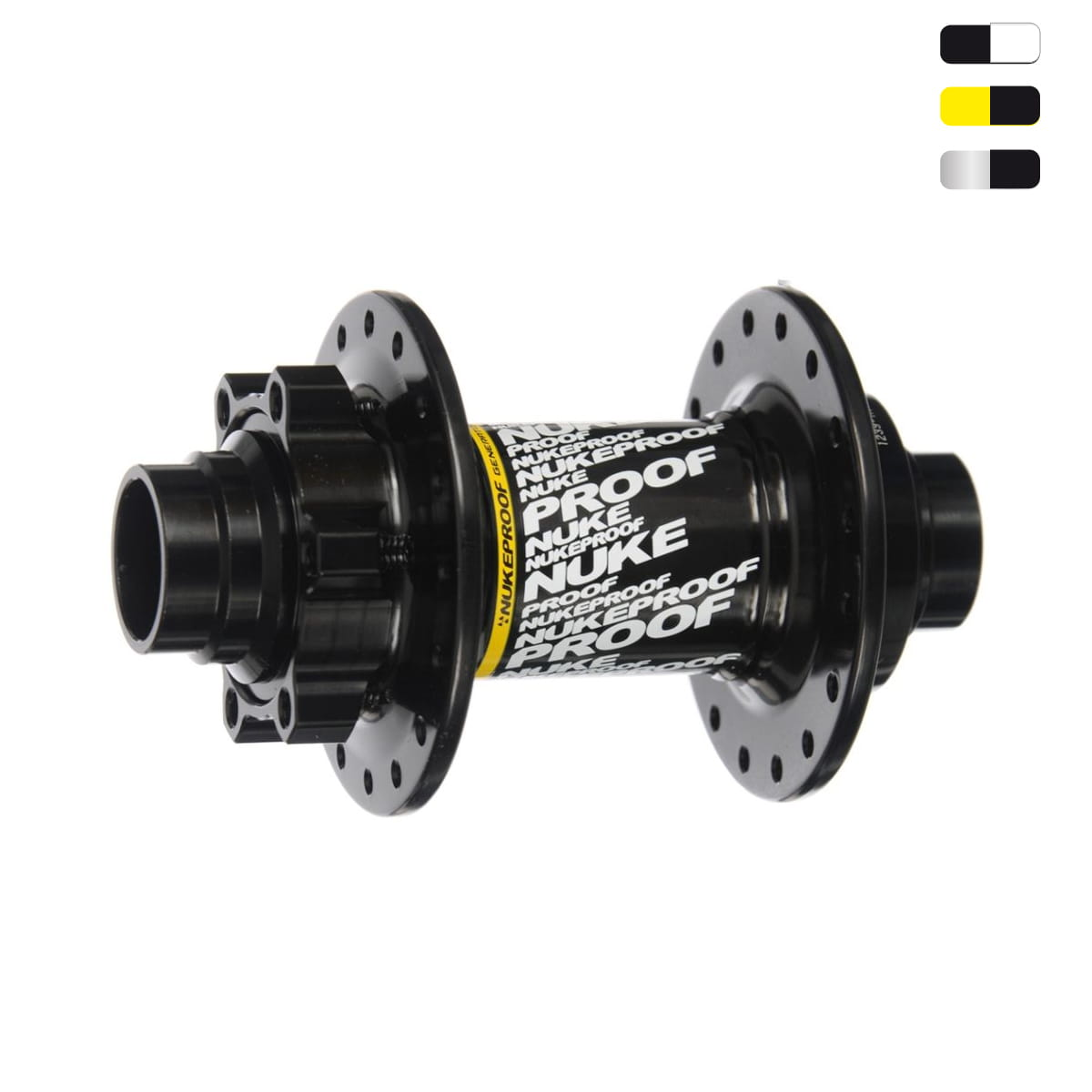 Halo Alloy High Flange Track 32h Hub Front White Bolt On Axle Fixed Gear Bikes