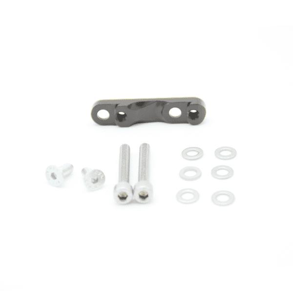 Adapter Y - flat mount - black