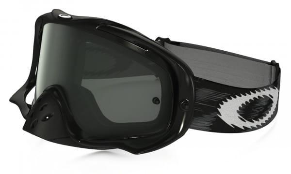 Crowbar MX Goggle - Jet Black - Dark Gray