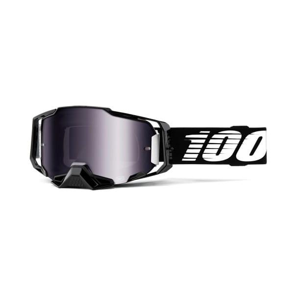 Armega Goggle Anti Fog - Schwarz - verspiegelt