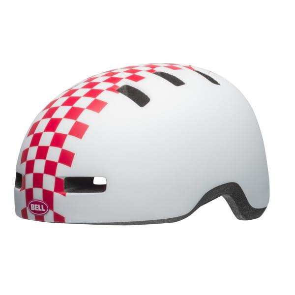 Lil Ripper Fahrradhelm - Weiss/Pink