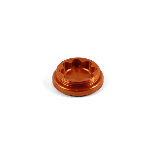 Bohrungsdeckel für X2 Bremssattel - Orange