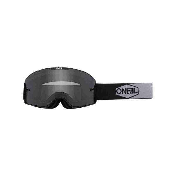 B-20 Goggles Plain Grau - Schwarz/Weiß