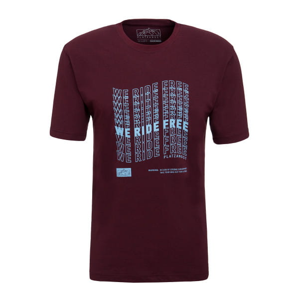 We Ride Free T-Shirt - Rot