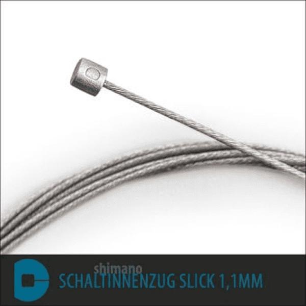 Schaltinnenzug 2,2m Shimano Slick BL - Silber