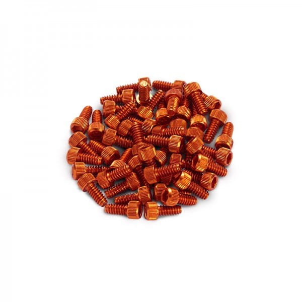 Ersatz Pins für Black ONE Pedal 10 Stück - orange