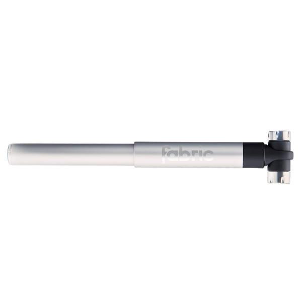 Microbar Dual Valve Mini Pumpe - Silber