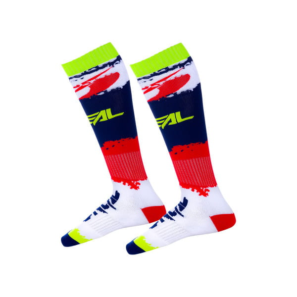 Pro MX Revit - Socken - Rot/Blau