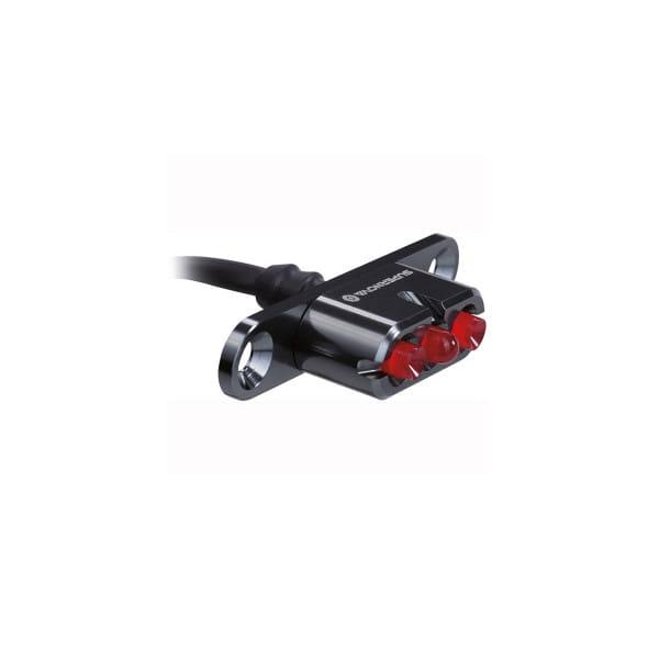 E-Bike Rücklicht E3 Tail Light 2 Gepäckträgermontage - 12V