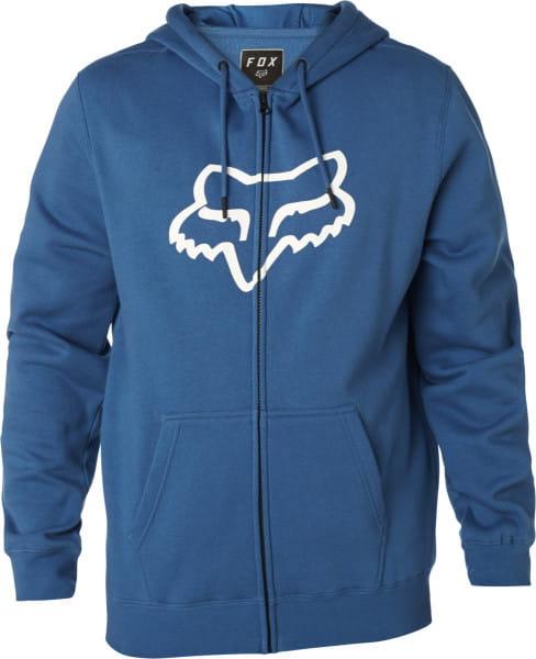 Legacy FOXHEAD Zip Fleece Hoodie - Blau