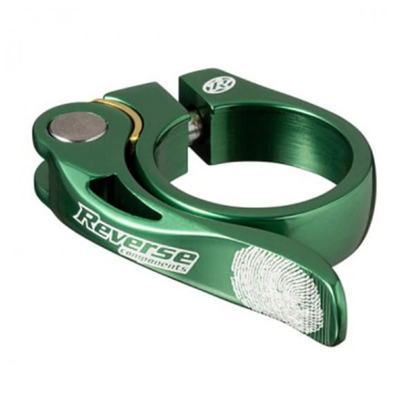 Long Life Sattelklemme 34,9mm - dark green