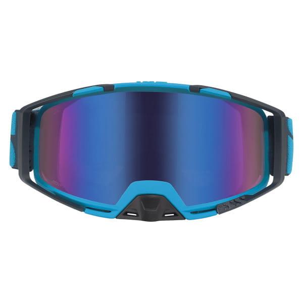 Brille Trigger verspiegelt - Blau