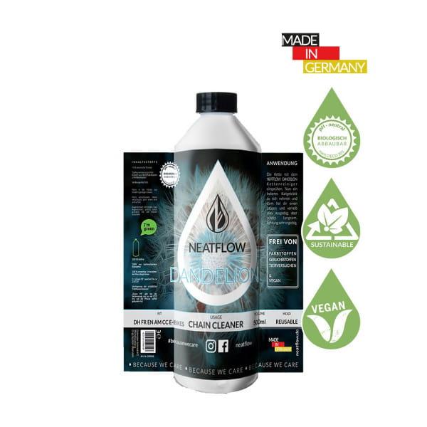Umweltfreundlicher Ketten-Reiniger Dandelion - Nachfüllflasche