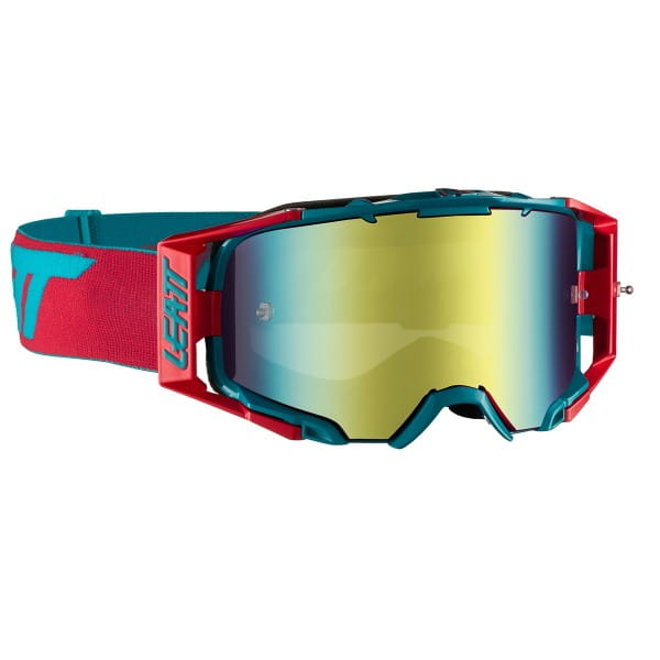 Velocity 6.5 Iriz Goggle Anti Fog Mirror Lens - Rot