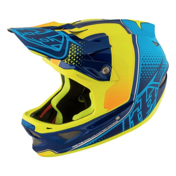 D3 Composite Helm Starburst Yellow