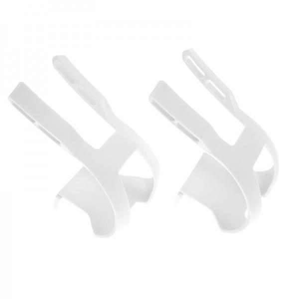 Toe Clip Plastic DB/DG Haken - weiss