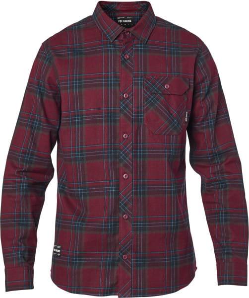 Gamut Stretch - Flannelhemd - Rot