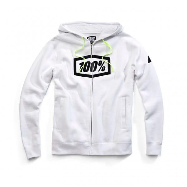Syndicate Full-Zip Hoody - white