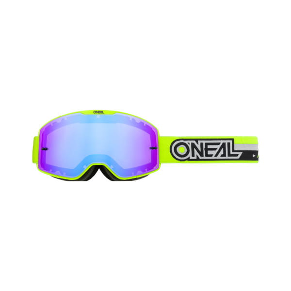 B-20 Proxy - Radium Blau - Goggle - Neongelb/Schwarz