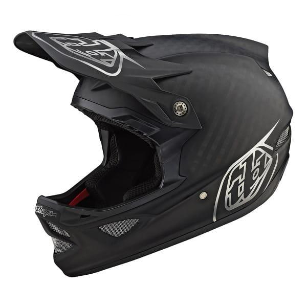 D3 Carbon Fullface Helm - Schwarz/Chrome
