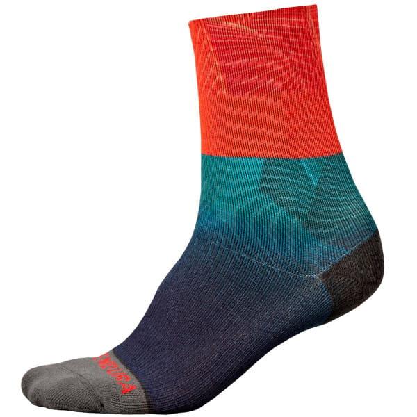 Lines LTD Socken - Blau/Rot