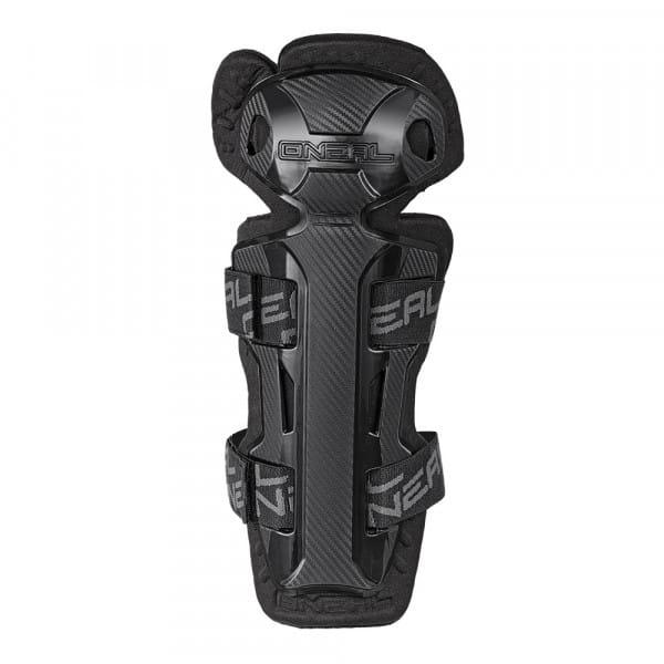 Pro II Carbon Look Knee Guard - black
