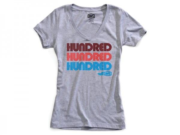 Hundred Damen T-Shirt - schwarz