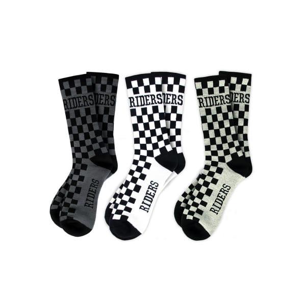 """Socken """"Checkers"""" 2er-Set"""
