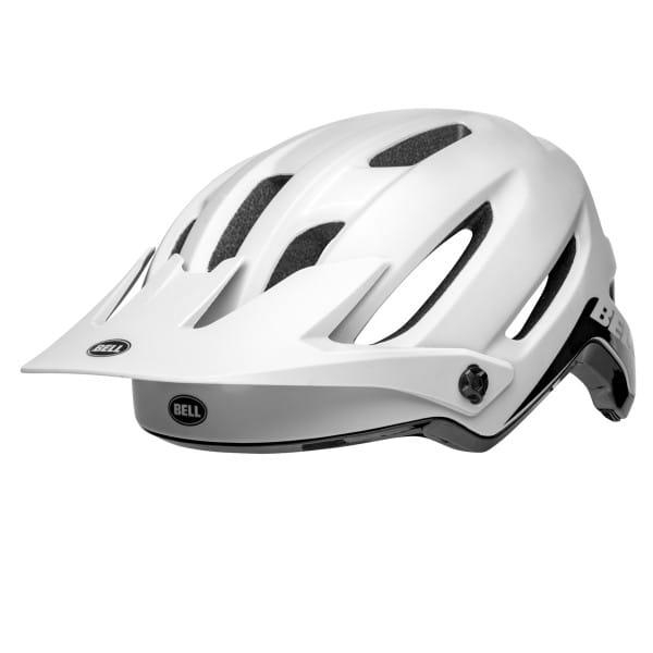 4Forty - Helm - Weiß/Schwarz