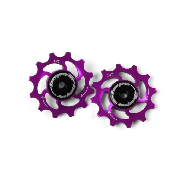 Jockey Wheels Schaltrollen - 12Z - purple