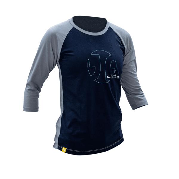 Mountee Damentrikot - Blau/Grau
