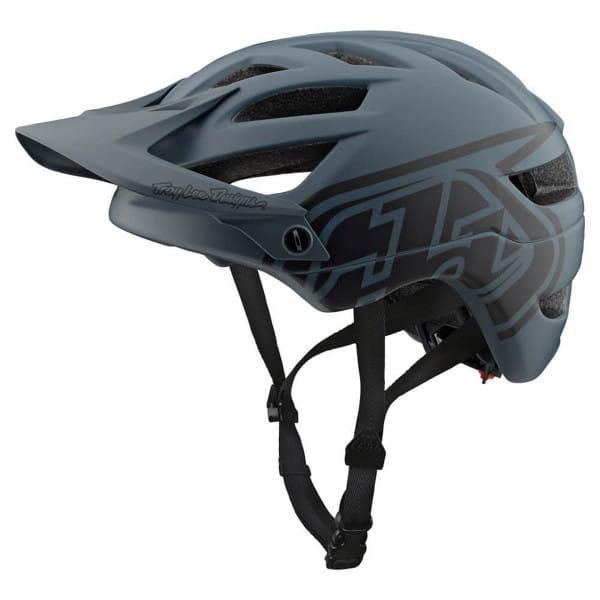 A1 Fahrradhelm Drone - Schwarz/Grau