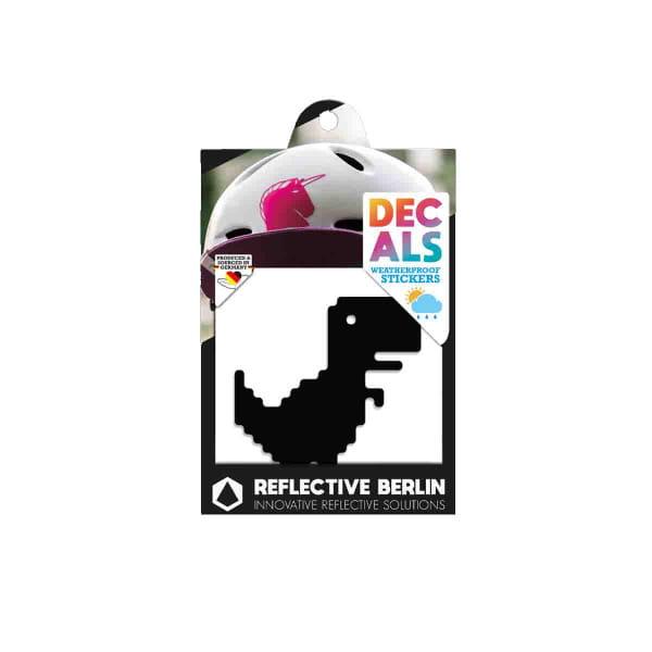 Reflective DECAL - T-Rex - schwarz