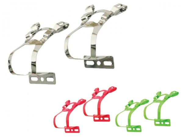 Double Toe Clips Pedalhaken.