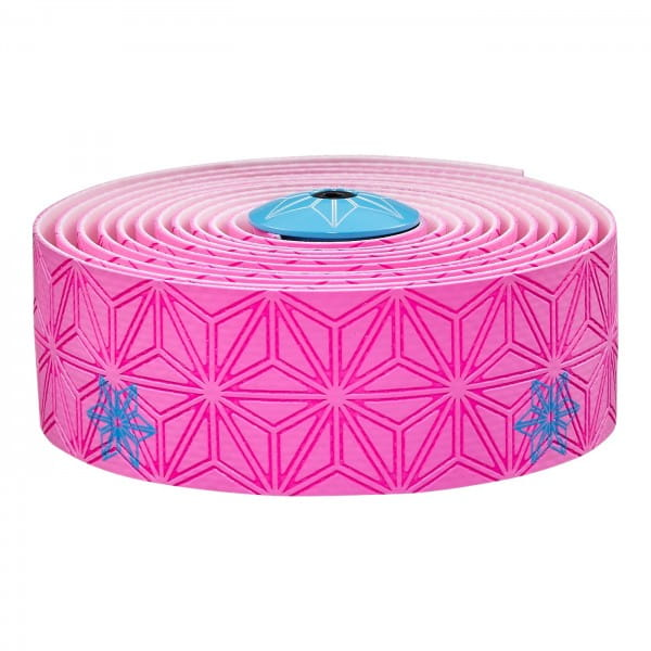 Super Sticky Kush Lenkerband - Neon Pink/Neon Blau Print
