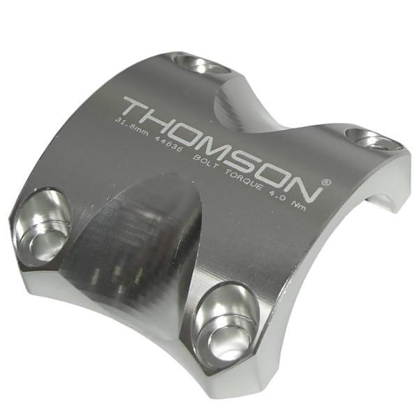 Lenkerklemmung 31,8 mm für Elite X4 Vorbauten - Silber