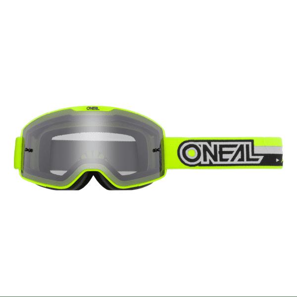 B-20 Proxy - Grau - Goggle - Neongelb/Schwarz