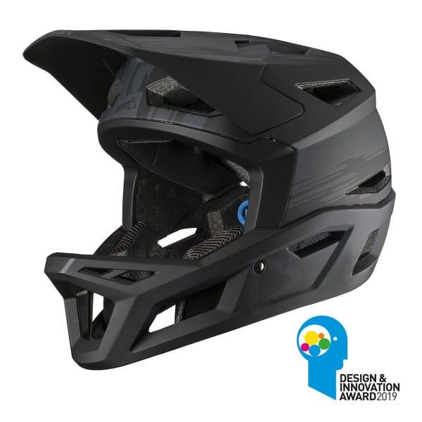 Full Face Helm DBX 4.0 Super Ventilated - Schwarz