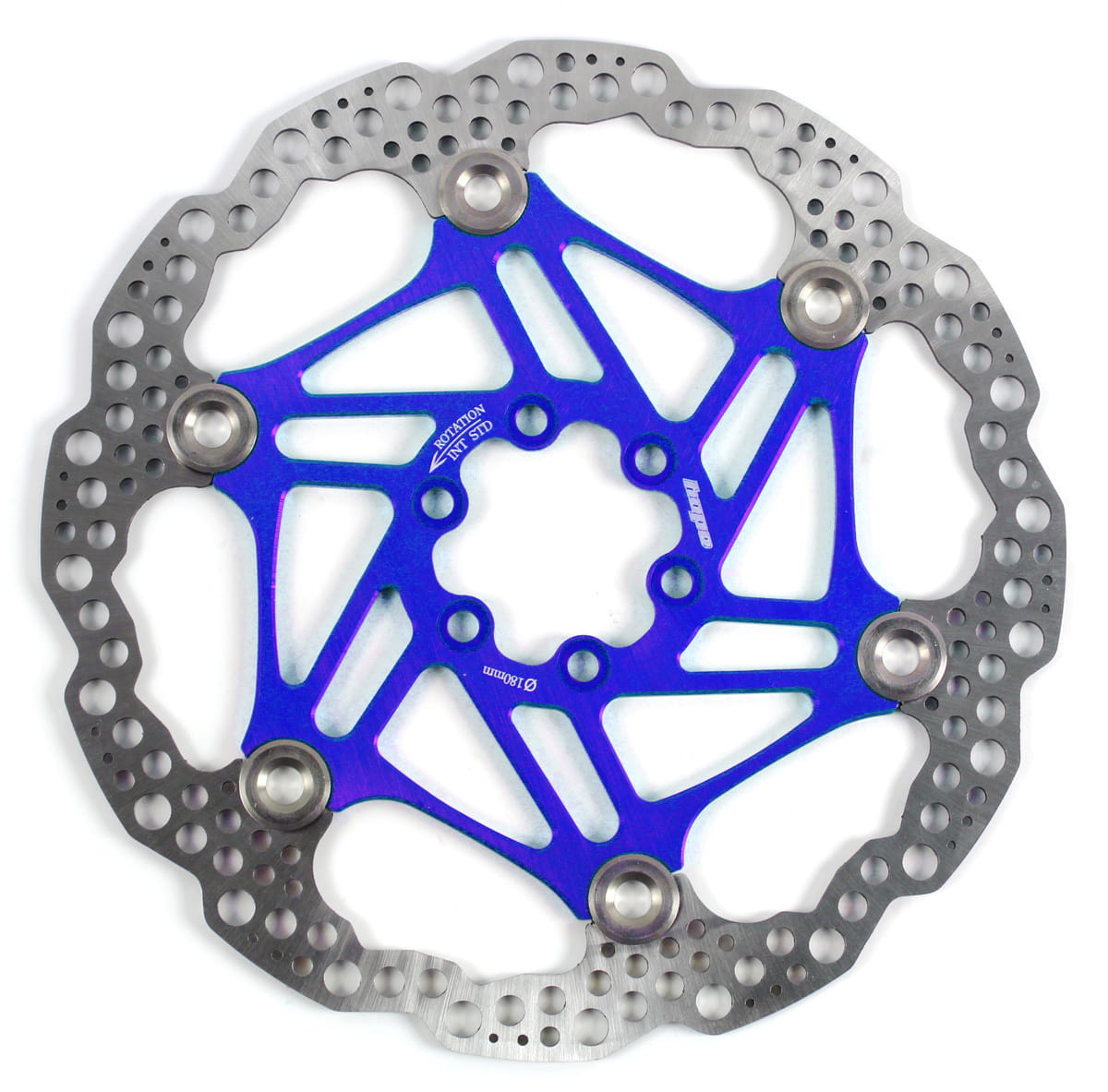 Hope Floating Disc Bremsscheibe - blue online kaufen | BMO Bike-Mailorder