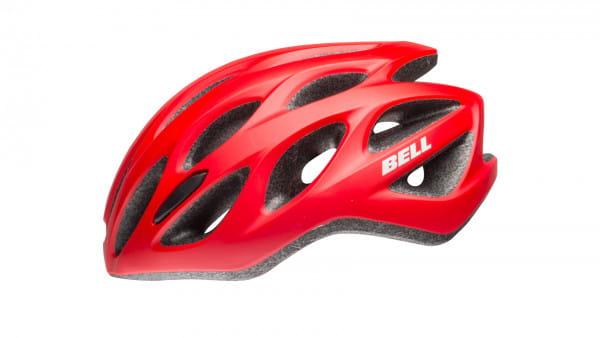 Tracker R Fahrradhelm - red/black