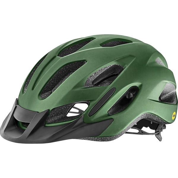 Compel MIPS Helm - Grün matt metallic