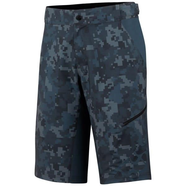 Culm Kids Shorts - Graphite/Camo