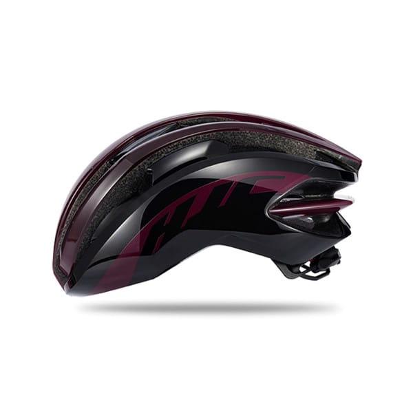 IBEX Road Helm - Gloss Burgundy / Black