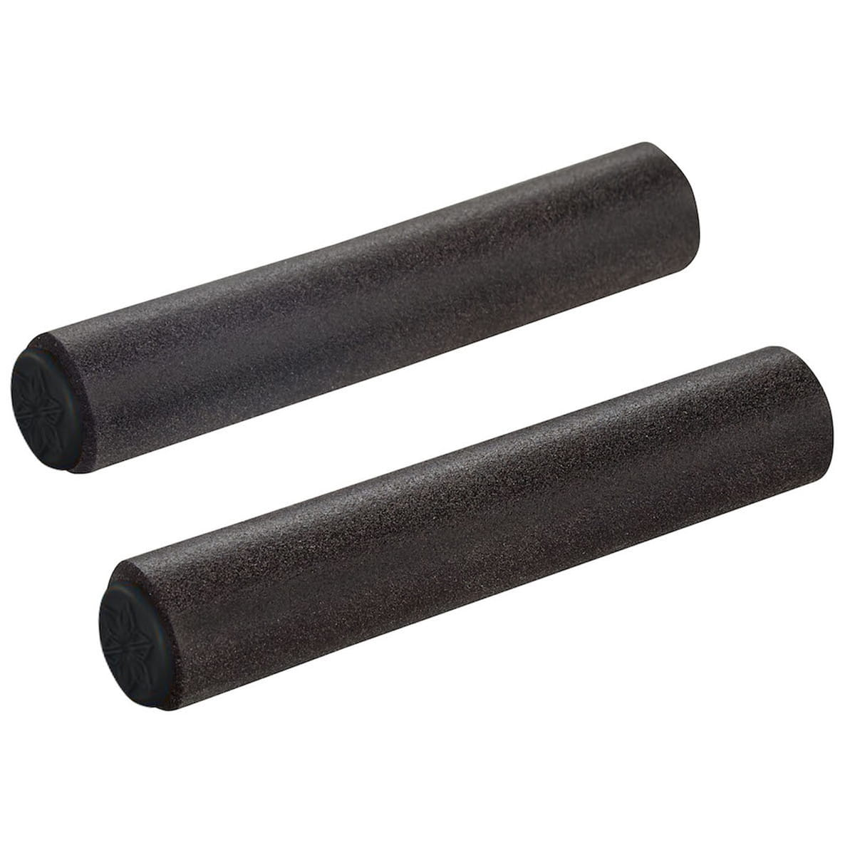 Fabric Silicone Grips Fahrrad Griffe schwarz