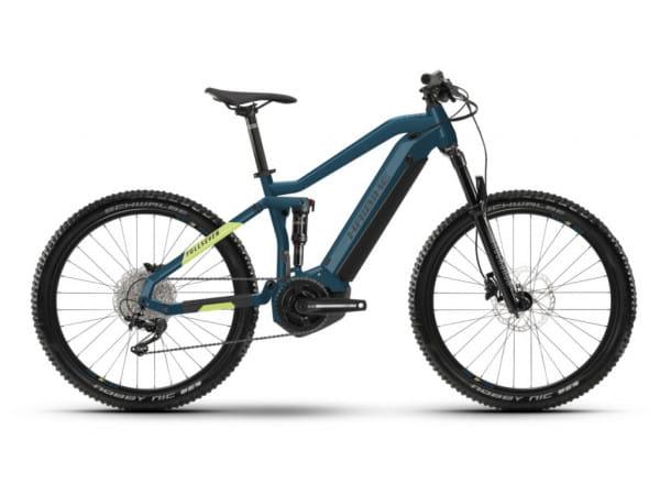 FullSeven 5 i500Wh 11-G Deore - E-MTB 27,5 Zoll Fullsuspension - Blau/Gelb/Schwarz