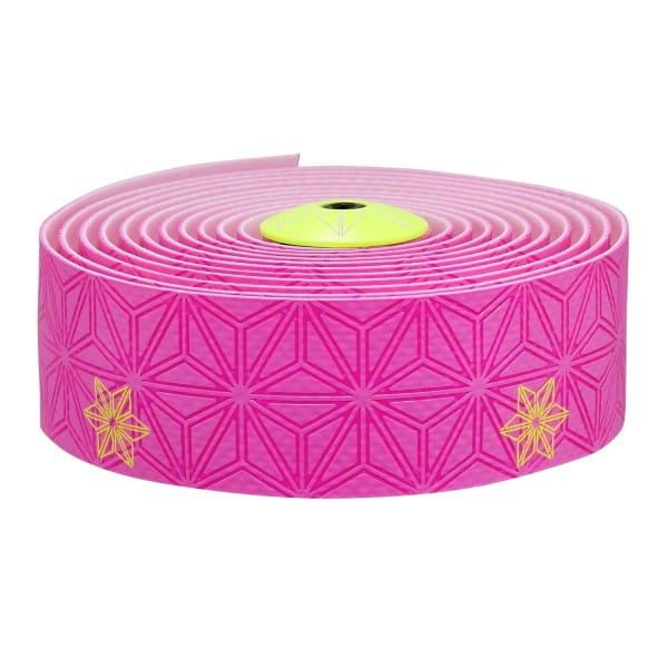 Super Sticky Kush Bar Tape Printed - Neon Pink/Yellow Printed