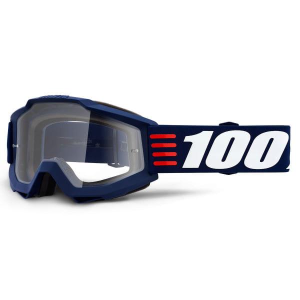 Accuri Goggle Anti Fog Clear Lens - Blau/Weiß