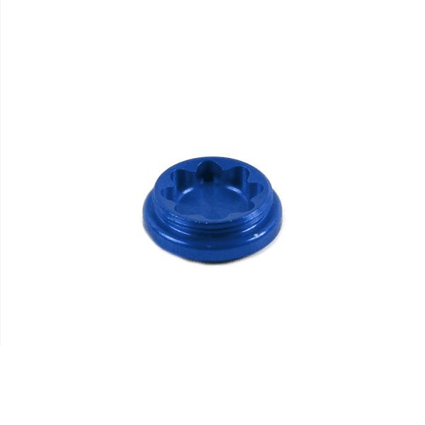 Bohrungsdeckel für X2 Bremssattel - Blau